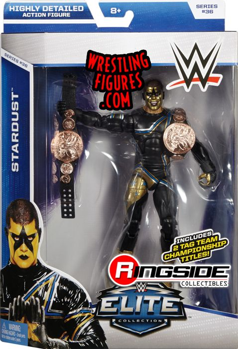 Stardust Wwe Elite 36 Wwe Toy Wrestling Action Figure By