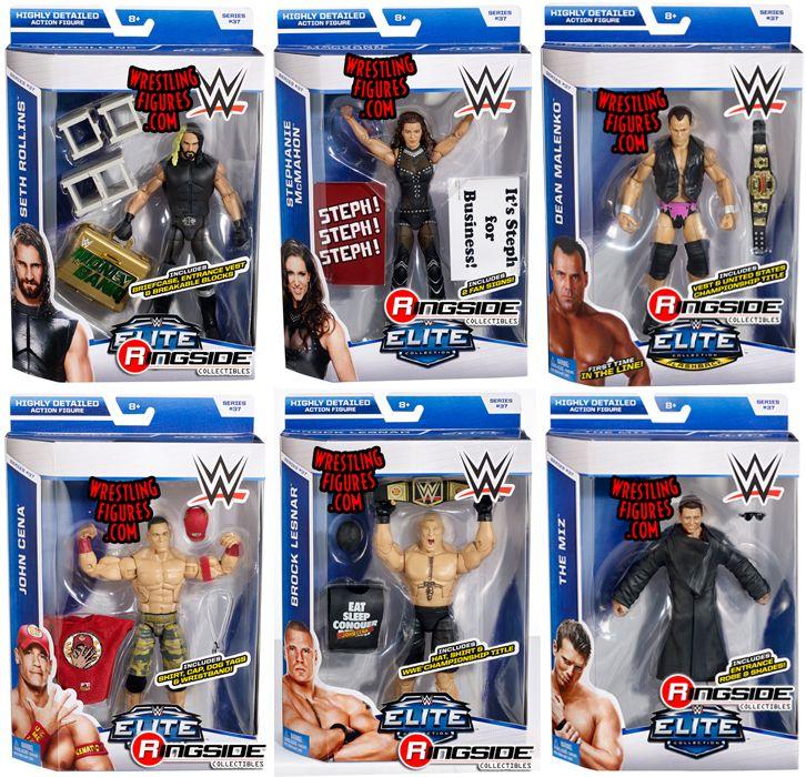 Wwe Elite 37 Complete Set Of 6 Wwe Toy Wrestling Action