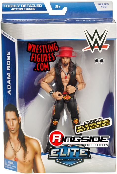 Adam Rose Wwe Elite 38 Wwe Toy Wrestling Action Figure