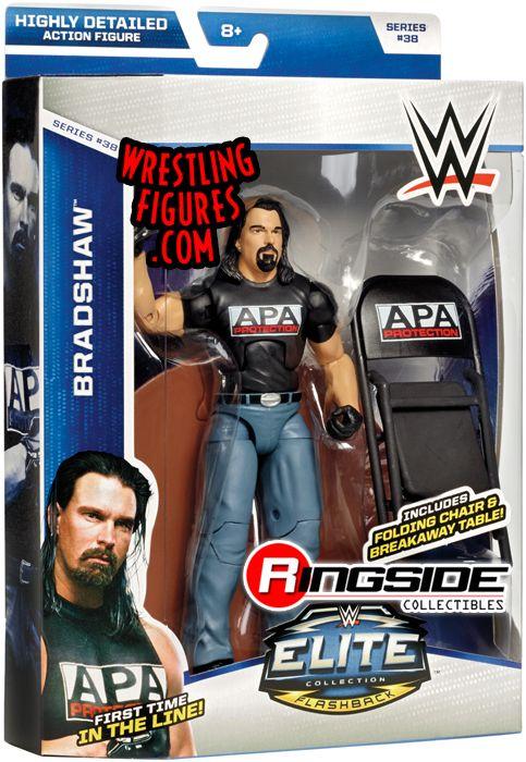 Bradshaw Jbl Wwe Elite 38 Wwe Toy Wrestling Action