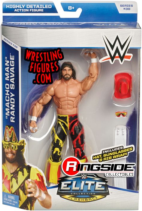 Quot Macho Man Quot Randy Savage Wwe Elite 38 Wwe Toy Wrestling