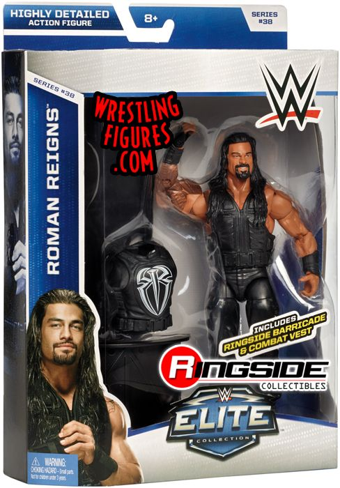 Roman Reigns Wwe Elite 38 Wwe Toy Wrestling Action