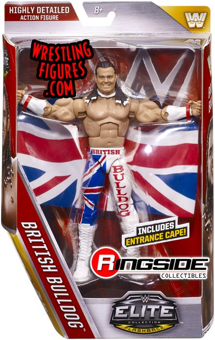 British Bulldog Davey Boy Smith Wwe Elite 39 Wwe Toy