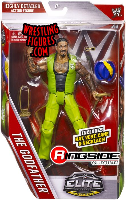 Godfather Wwe Elite 39 Wwe Toy Wrestling Action Figure