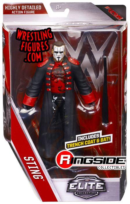 Sting Wwe Elite 39 Wwe Toy Wrestling Action Figure By Mattel