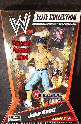 John Cena Wwe Elite 3 Ringside Collectibles