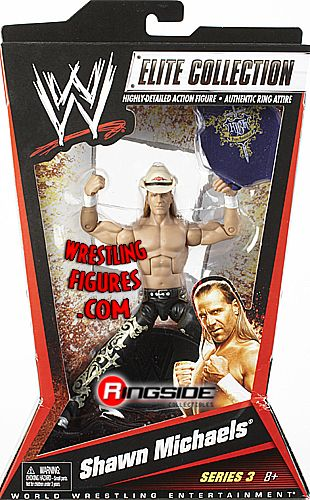Shawn Michaels Wwe Elite 3 Ringside Collectibles
