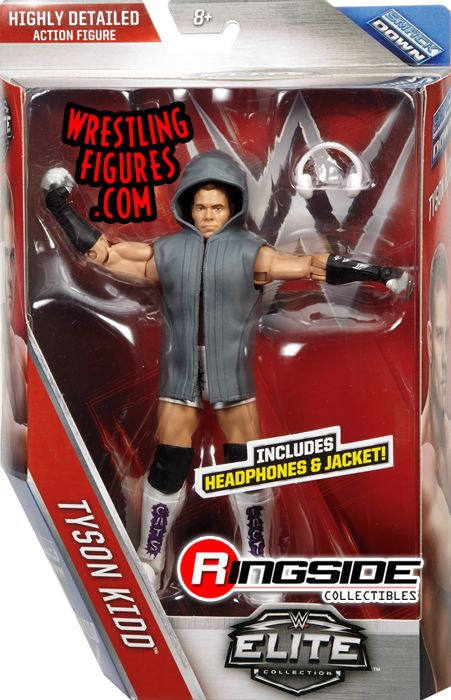 Tyson Kidd Wwe Elite 40 Wwe Toy Wrestling Action Figure