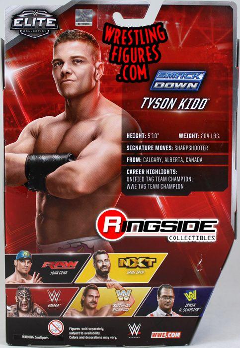 WWE Mattel Elite 40 Tyson Kidd Tag Champion NXT