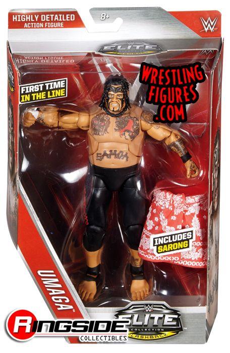 Umaga Wwe Elite 40 Wwe Toy Wrestling Action Figure By