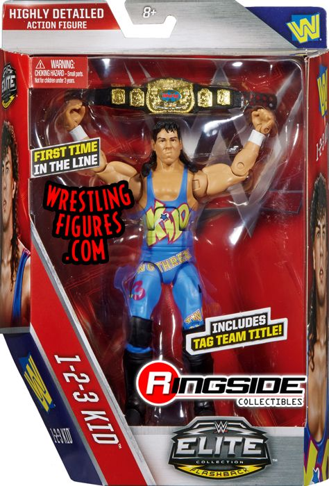123 Kid Wwe Elite 41 Wwe Toy Wrestling Action Figure By