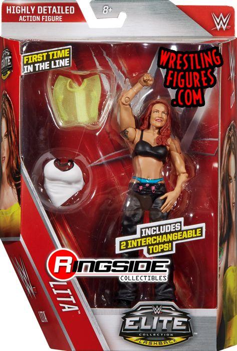 Lita Wwe Elite 41 Wwe Toy Wrestling Action Figure By Mattel