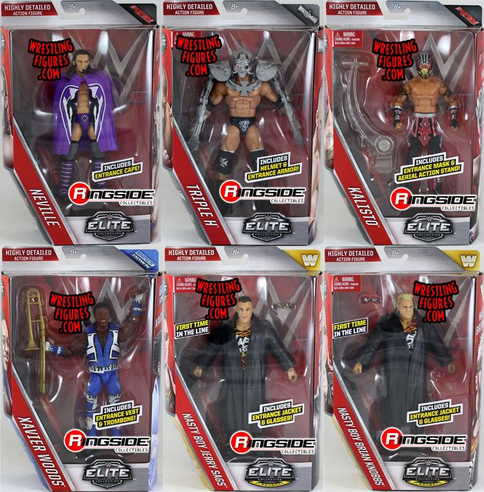 Wwe Elite 42 Toy Wrestling Action Figures By Mattel This