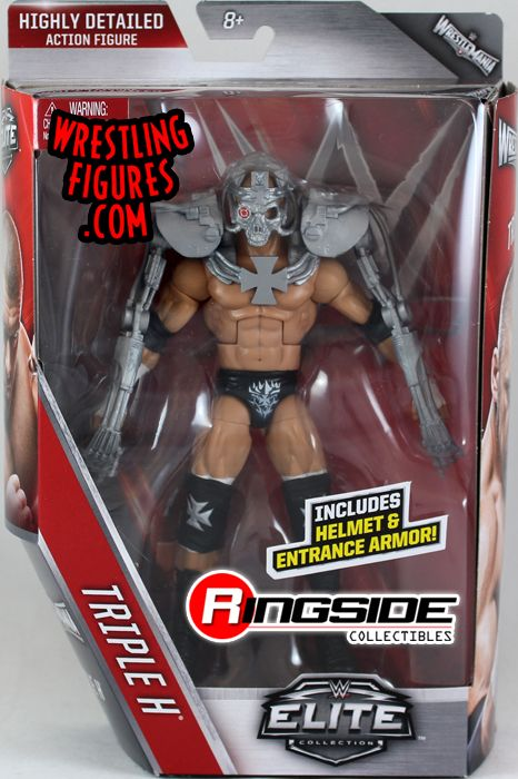 Triple H Hhh Wwe Elite 42 Wwe Toy Wrestling Action