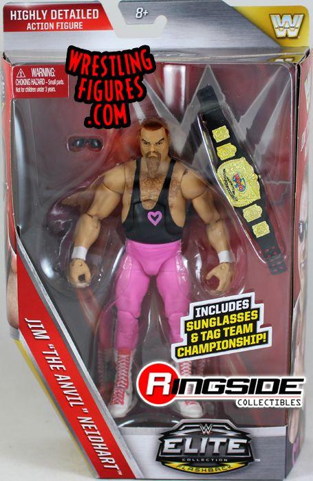 Jim Neidhart Hart Foundation Wwe Elite 43 Wwe Toy