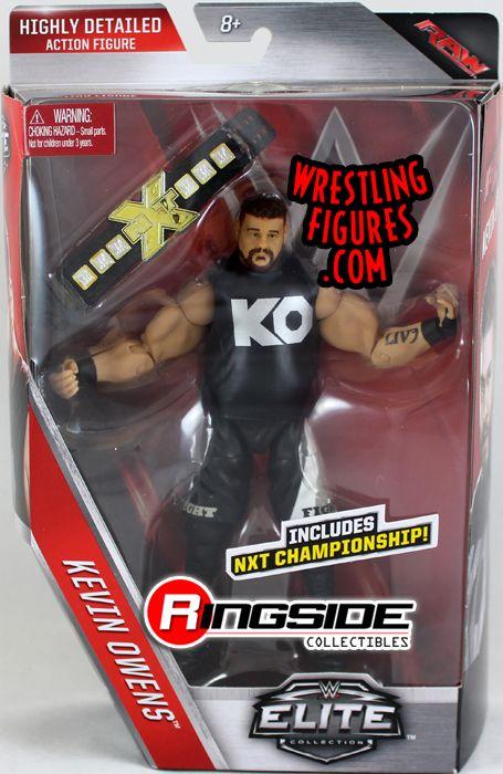 kevin owens wwe elite 43 wwe toy wrestling action figure