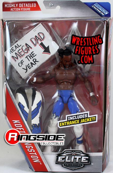 Kofi Kingston New Day Wwe Elite 43 Wwe Toy Wrestling