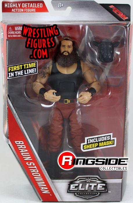 Braun Strowman Wyatt Family Wwe Elite 44 Wwe Toy
