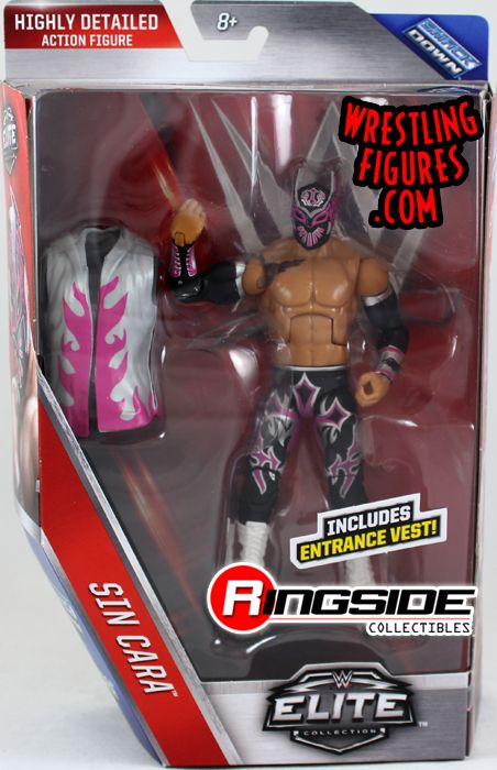 Sin Cara Wwe Elite 44 Wwe Toy Wrestling Action Figure By