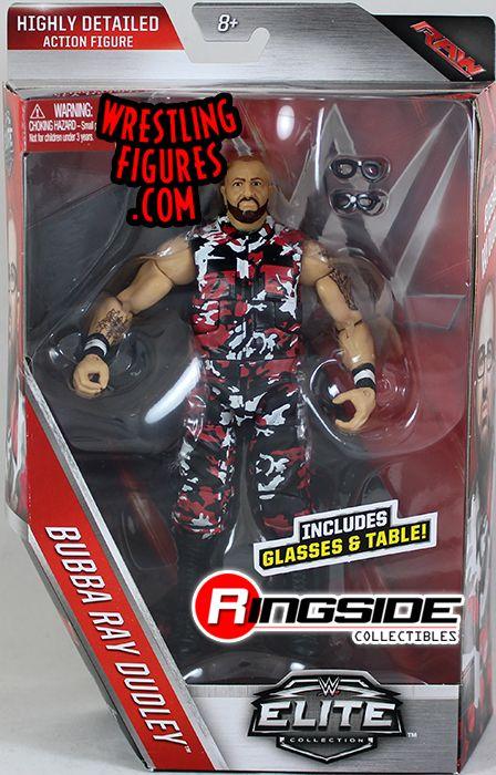 Bubba Ray Dudley Dudley Boyz Wwe Elite 45 Wwe Toy