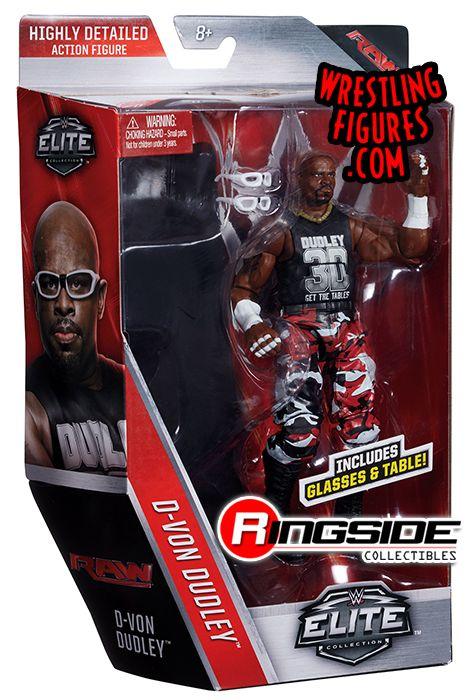D Von Devon Dudley Dudley Boyz Wwe Elite 45 Wwe Toy