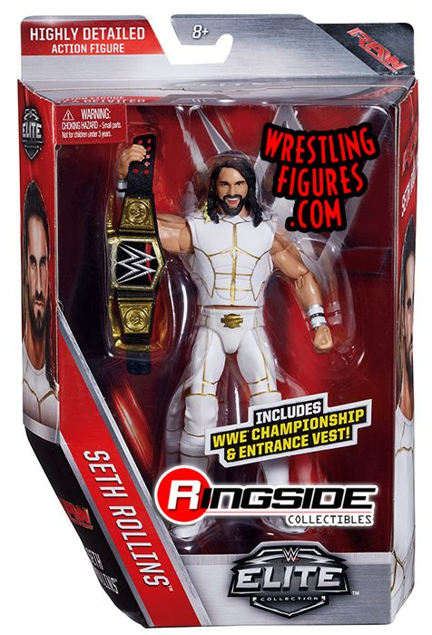 Seth Rollins Wwe Elite 45 Wwe Toy Wrestling Action