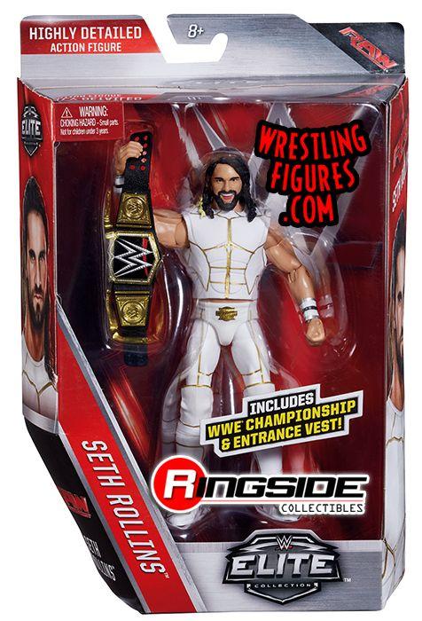 Seth Rollins Wwe Elite 45 Wwe Toy Wrestling Action