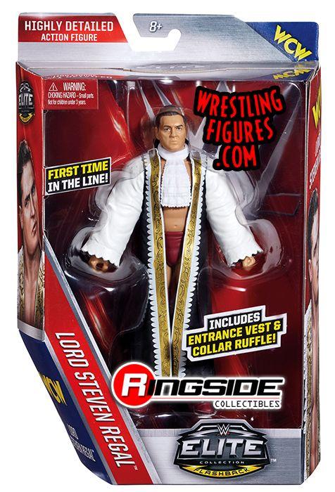 Lord Steven Regal Wwe Elite 45 Wwe Toy Wrestling Action
