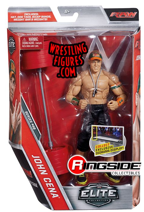 John Cena Wwe Elite 46 Wwe Toy Wrestling Action Figure