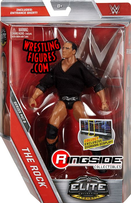 The Rock Wwe Elite 47 5 Wwe Toy Wrestling Action Figure