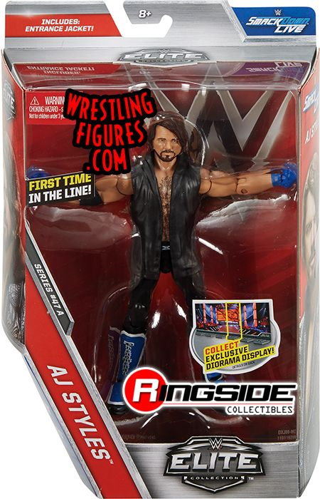 Toys That Are 48 20 : Aj styles wwe elite toy wrestling action figure