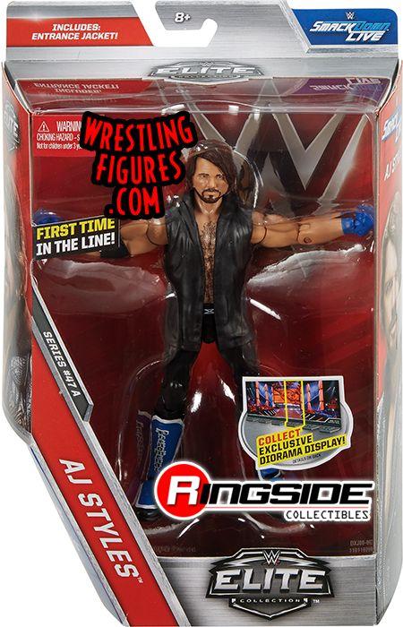 Aj Styles Wwe Elite 47 Wwe Toy Wrestling Action Figure