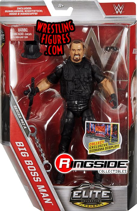 Toys That Are 48 20 : Big bossman wwe elite toy wrestling action figure