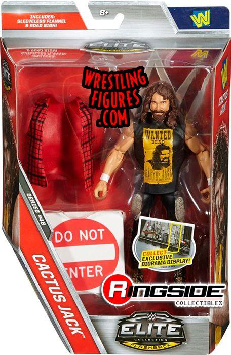 Cactus Jack Mick Foley Wwe Elite 48 Wwe Toy Wrestling