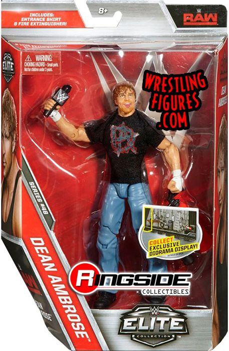 Toys That Are 48 20 : Dean ambrose wwe elite toy wrestling action