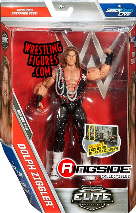 Dolph Ziggler Wwe Elite 48 Wwe Toy Wrestling Action