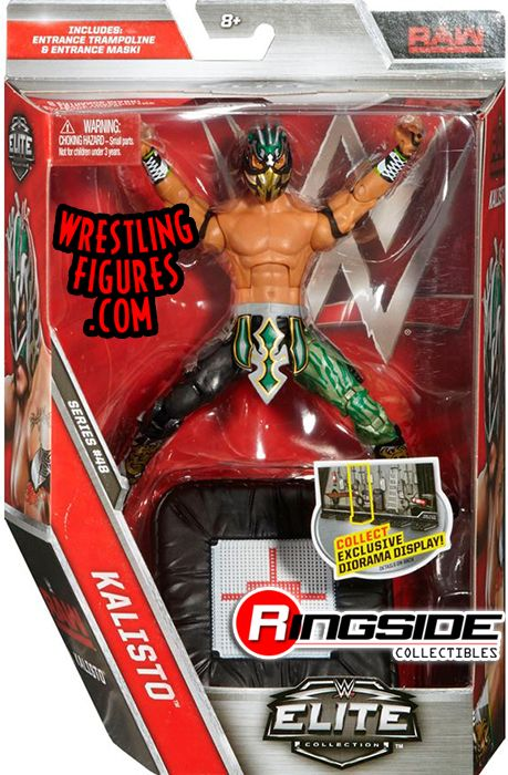 Wwe Girl Toys : Kalisto wwe elite toy wrestling action figure by