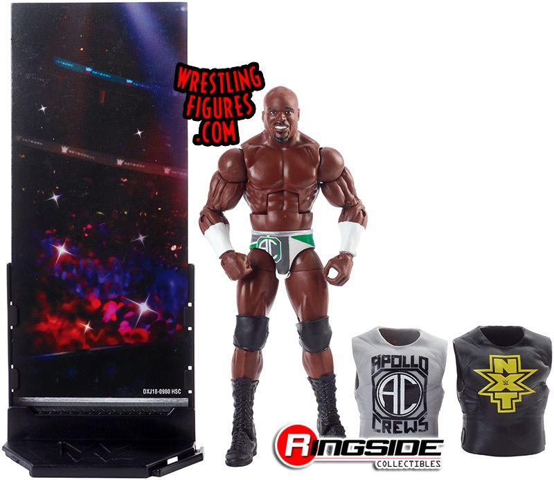 WWE Elite Collection Series #49 APOLLO CREWS Wrestling Action Figure