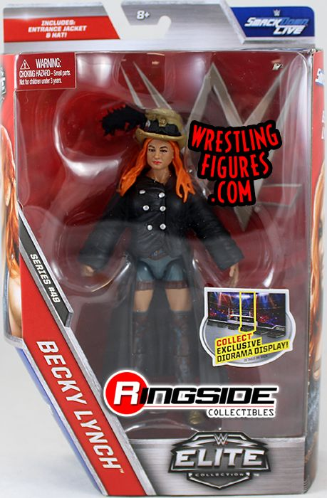 Becky Lynch Wwe Elite 49 Wwe Toy Wrestling Action Figure