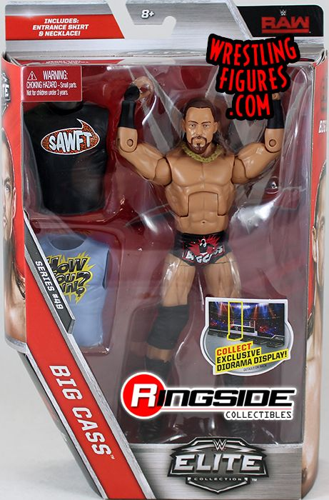 Big Cass Wwe Elite 49 Wwe Toy Wrestling Action Figure By