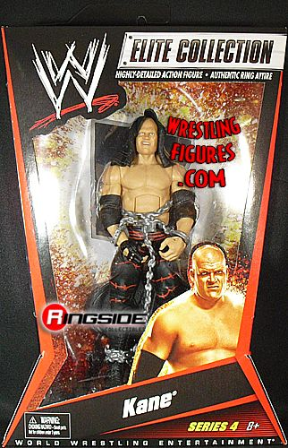 Kane Wwe Elite 4 Ringside Collectibles