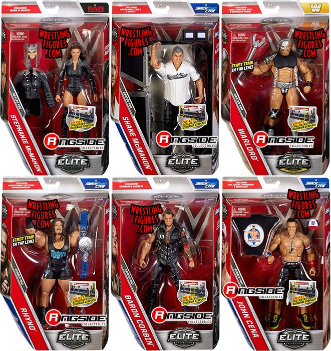 Wwe Elite 50 Toy Wrestling Action Figures By Mattel This