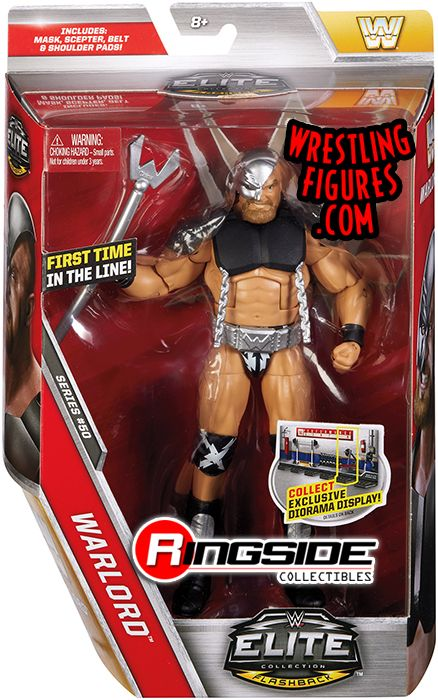 Warlord Wwe Elite 50 Wwe Toy Wrestling Action Figure By
