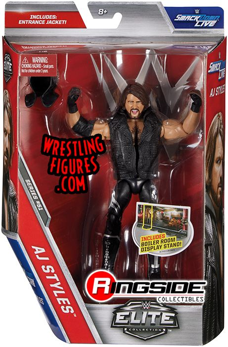 Aj Styles Wwe Elite 51 Wwe Toy Wrestling Action Figure
