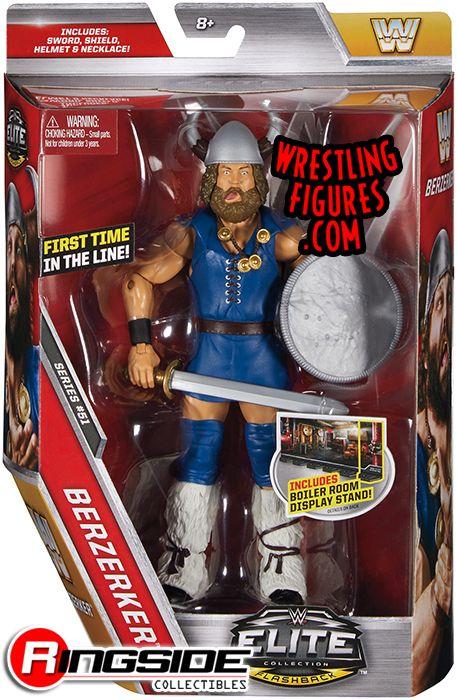 Berzerker Wwe Elite 51 Wwe Toy Wrestling Action Figure