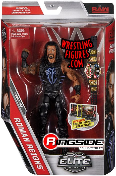 Wwe Girl Toys : Roman reigns wwe elite toy wrestling action