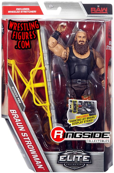 Braun Strowman Wwe Elite 52 Wwe Toy Wrestling Action