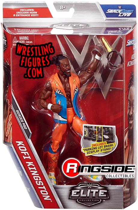 Kofi Kingston New Day Wwe Elite 52 Wwe Toy Wrestling