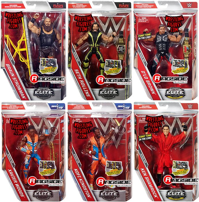 Wwe Elite 52 Complete Set Of 6 Ringside Collectibles