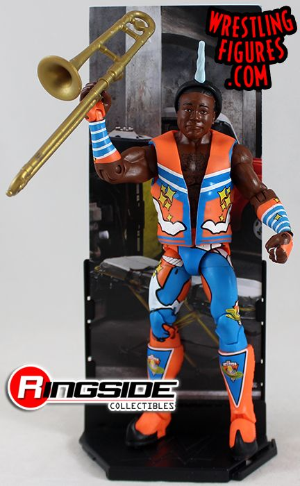 Xavier Woods WWE Elite 52 Mattel Toy Wrestling Action Figure Loose